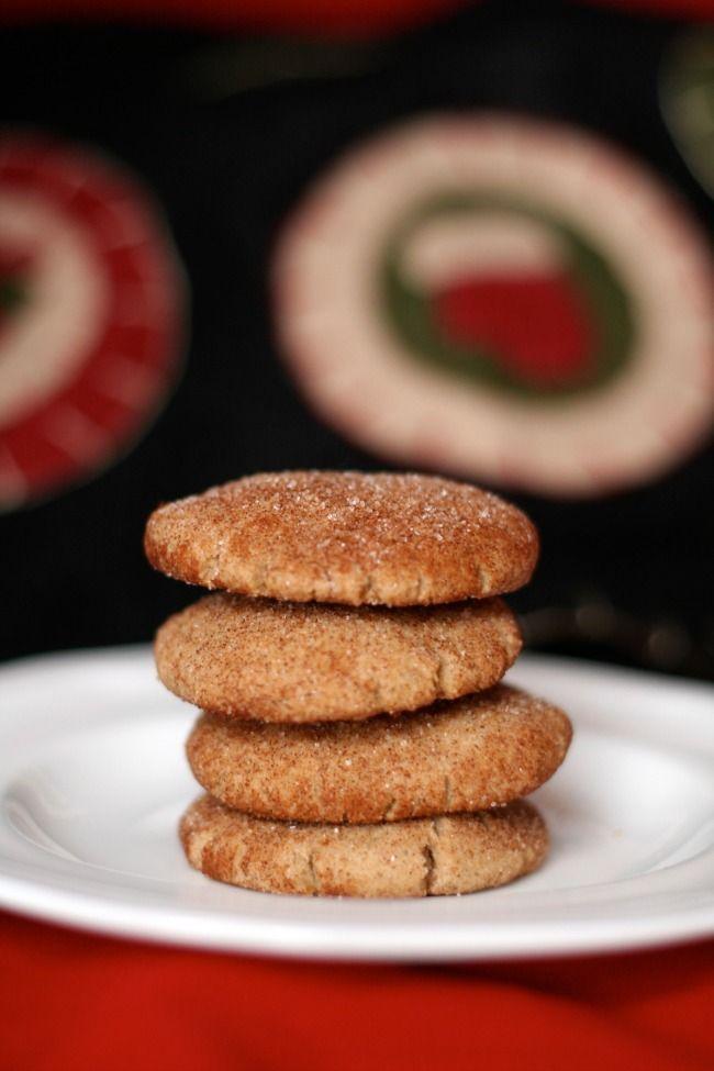 Gluten-Free Snickerdoodles #christmas #cookies www.bestofthislife.com ...