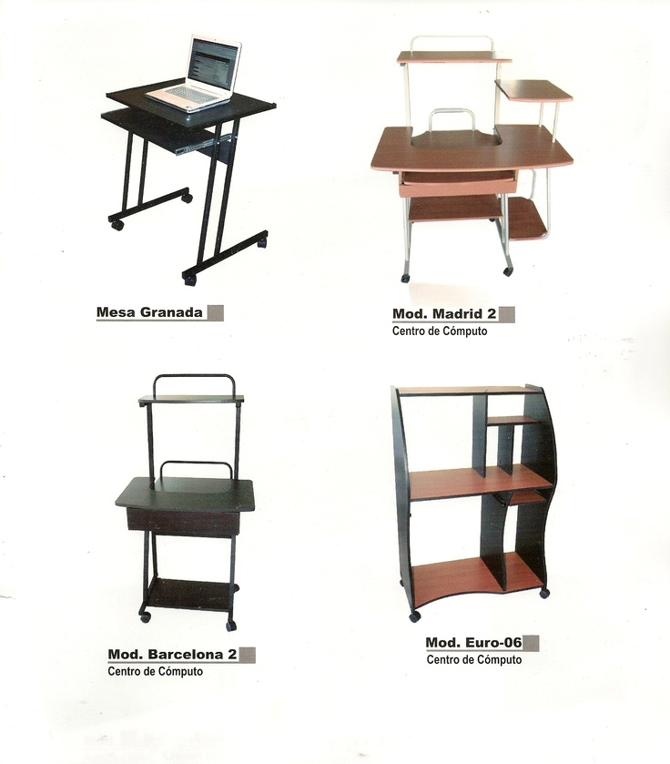 Muebles para computadora  Muebles de Oficina  Pinterest