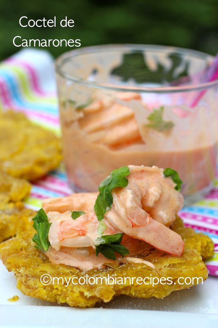 SHRIMP COCKTAIL (COCTEL DE CAMARONES) | appy's | Pinterest