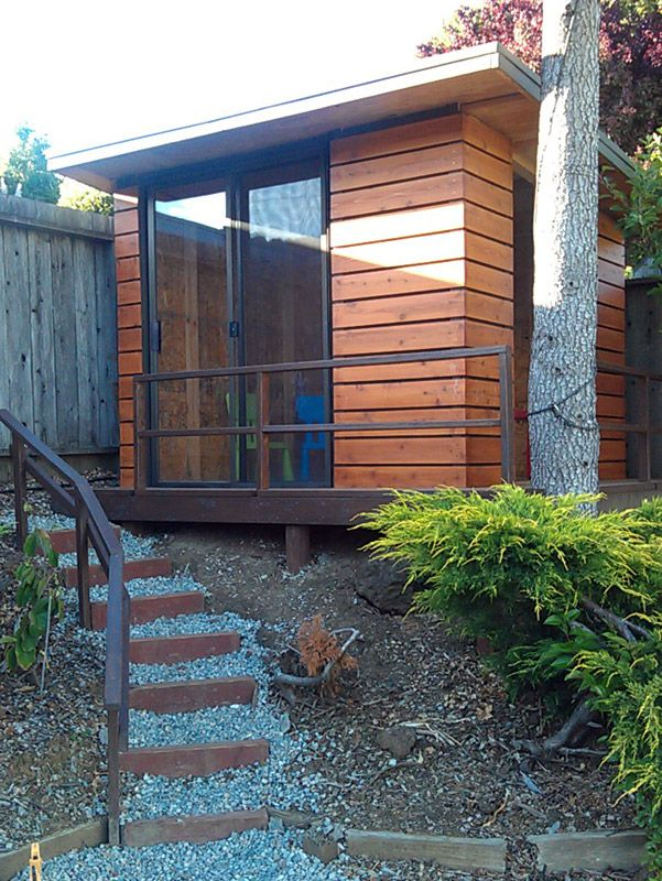 Modern Playhouse Houses On The Outside Pinterest