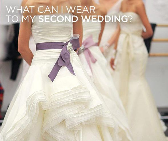 What Color And Type Of Dress Is Appropriate For My Second Wedding I