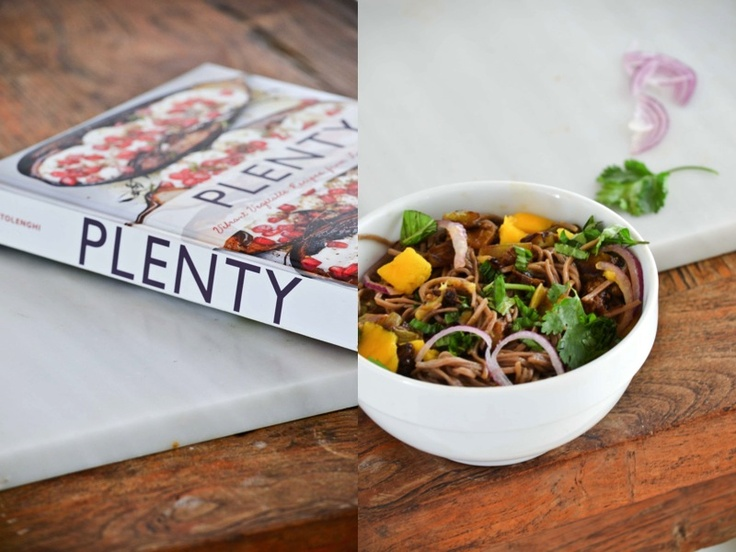 Soba Noodles with Eggplant and Mango | recipes tried | Pinterest