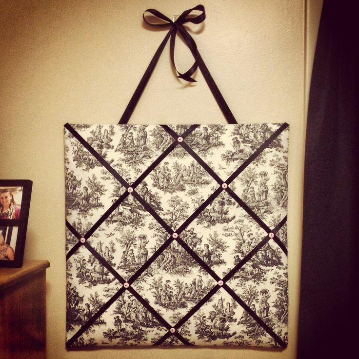 Diy memo board diy ideas pinterest for Diy fabric bulletin board ideas