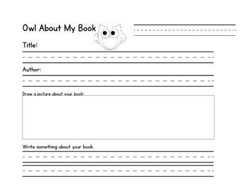 book report form first grade book report form for 2nd 3rd and 4th grade students check out. Black Bedroom Furniture Sets. Home Design Ideas