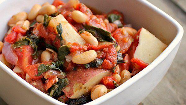 ... Italian White Bean, Kale & Potato Stew: This is an easy, warm stew