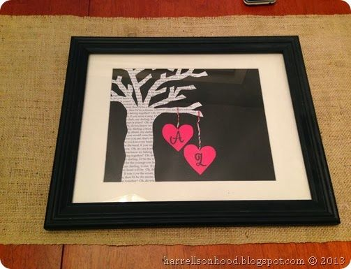 1st Wedding Anniversary Gift Ideas Diy : first wedding anniversary traditional gift ideas, paper tree with ...