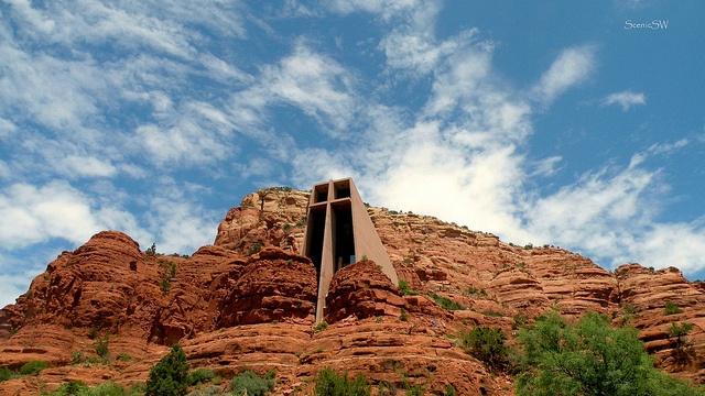 Chapel Of The Holy Cross Sedona Arizona Arizona