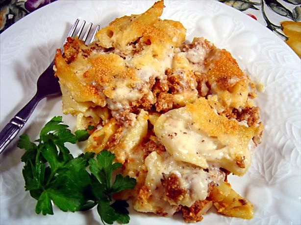 Pastitsio (Greek Lasagna) With Greens Recipes — Dishmaps