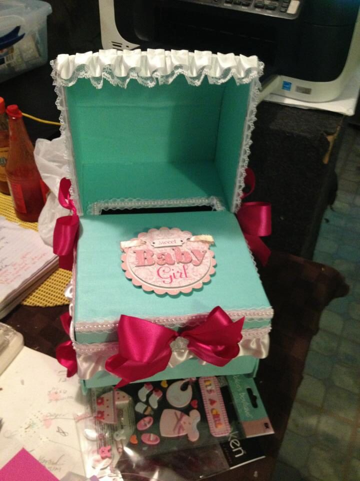 baby shower and gift card box cool ideas pinterest