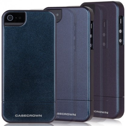 iPhone 5 Chameleon Glider Case - Blue / Purple