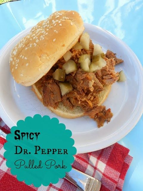 Spicy Dr Pepper Pulled Pork | Favorite Recipes | Pinterest