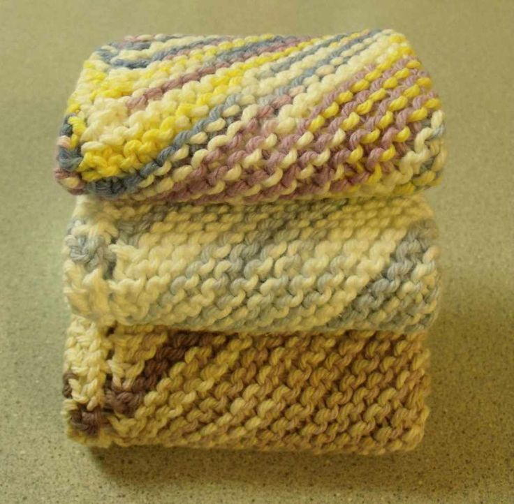 KweenBee and Me: Knit a Simple Dishcloth   Knitting Wash/Dish Cloths ...