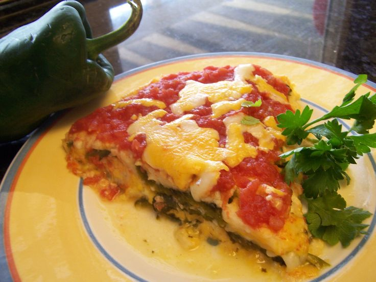 Anne's Chile Relleno Casserole from moutainvalleyliving.com