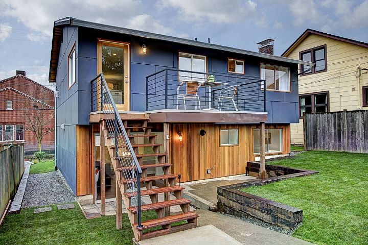 Split level house renovation backyard for the home pinterest