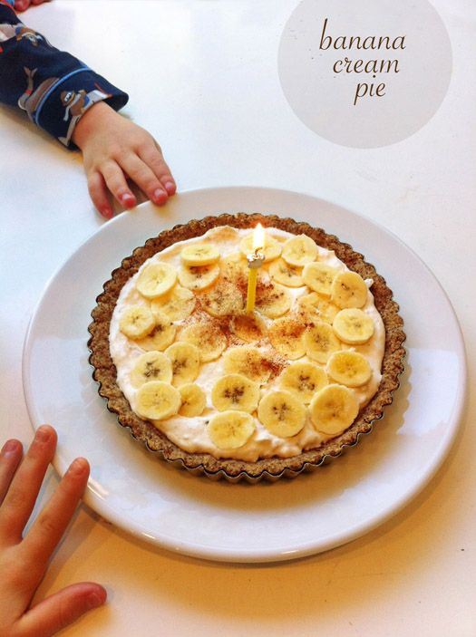 Gluten Free Banana Cream Pie | Cheat Sweetly | Pinterest
