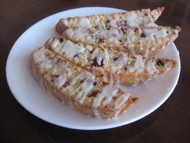 Cranberry Almond Biscotti | FOOD! | Pinterest