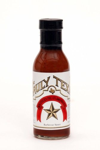 Pecan BBQ Sauce Truly Texas- this is SO good on steaks, ribs, chicken ...