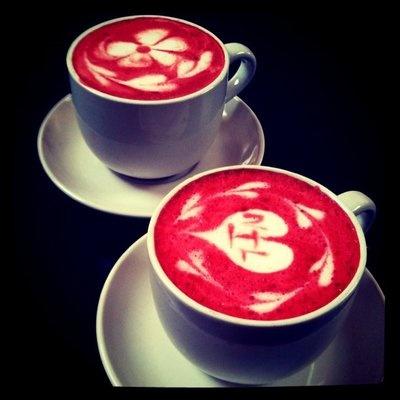 The Red Love Latte Recipe — Dishmaps