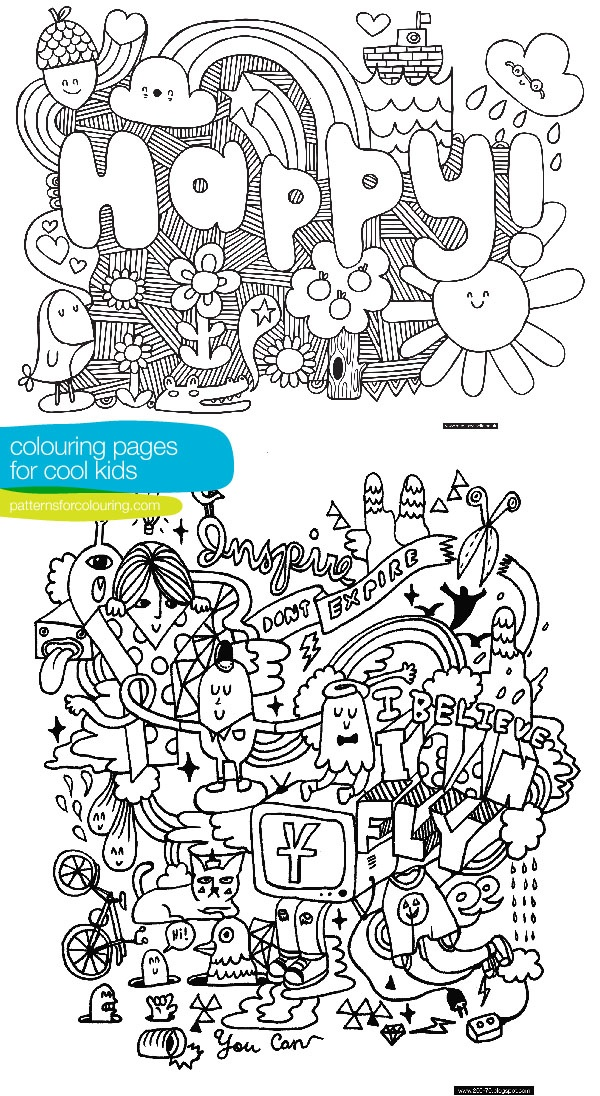 Cool coloring pages of animals