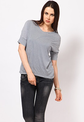 Grey coloured top for women by Van Heusen. Made from viscose, this