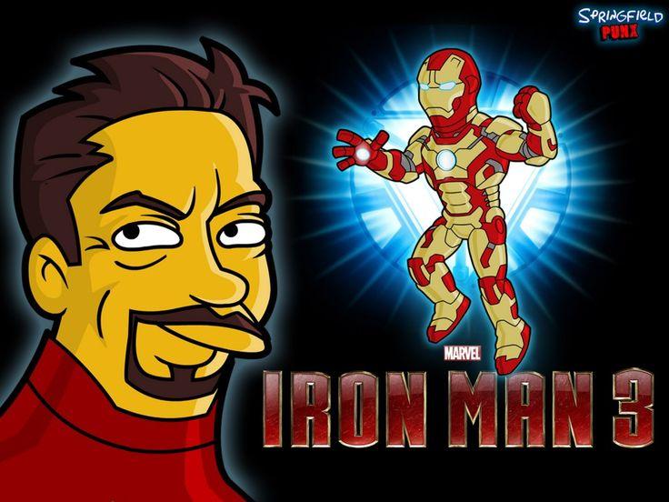 Cartoon Iron Man 3