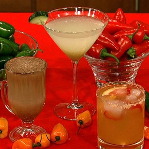 Clinton Kelly's Spicy Grapefruit Margarita....with habanero pepper and ...