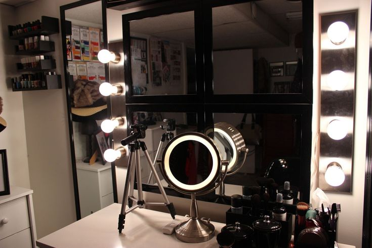 DIY vanity lights For the Home Pinterest