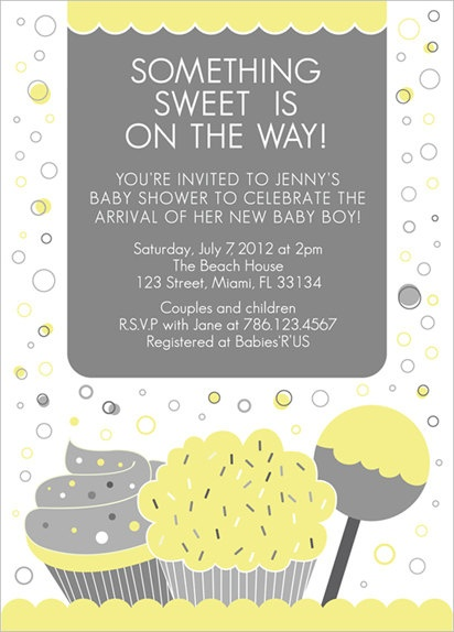color options sweets baby shower invitation boy or by papersquid 18