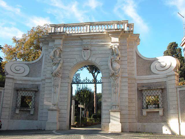 Villa Celimontana, Roma roma amor Pinterest