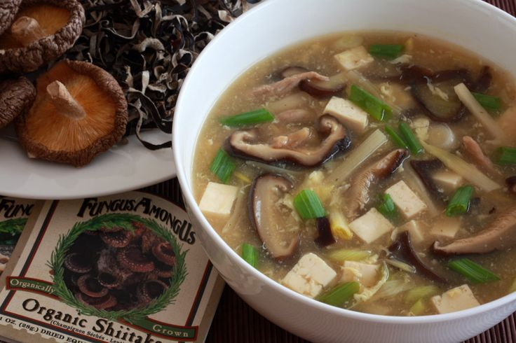 Authentic, restaurant-style Chinese Hot and Sour Soup. This rivals the ...