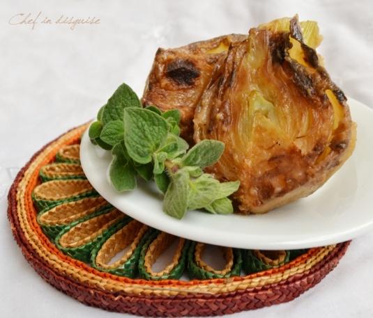 braised fennel - an easy, elegant, earth friendly side-dish.