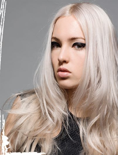 Blonde Hair Color With Violet Base