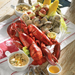 Lobster Boil for a night with tequila and good friends