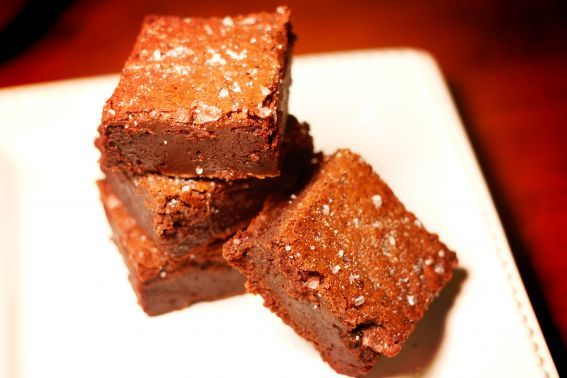 Salted Fudge Brownies | brownies | Pinterest