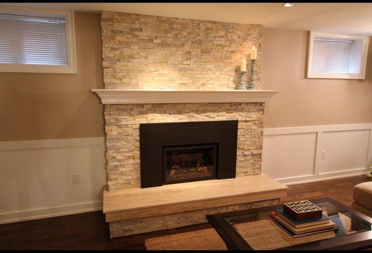 Basement Fireplace Lilly Ct Pinterest