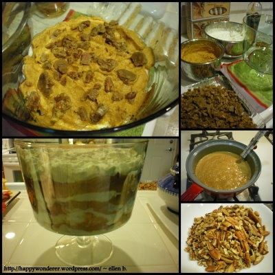 Pumpkin Praline Trifle | Tastes of Fall | Pinterest