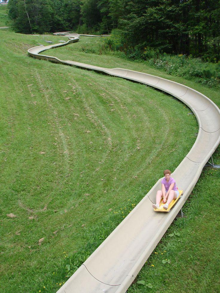 Backyard Hill Slide : 25 Epic IndoorOutdoor Slides