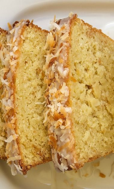 Coconut Buttermilk Pound Cake | Recipe