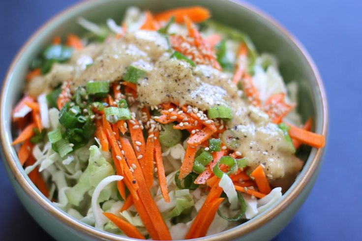 Week of Menus: Miso Slaw: On goodness | Veggie Dishes & Salads | Pint ...