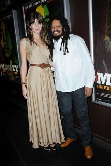 Rohan Marley и Isabeli Fontana на премьере 'Marley The