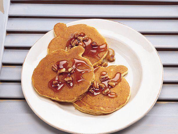 Spicy Pumpkin Pancakes. Pancakes make breakfast fun! Enjoy a fun fall ...