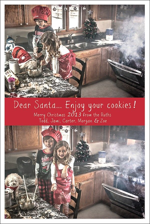 Funniest Family Holiday Card Fails Christmas