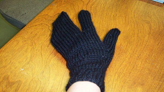 Trigger finger mittens Craft Ideas Pinterest