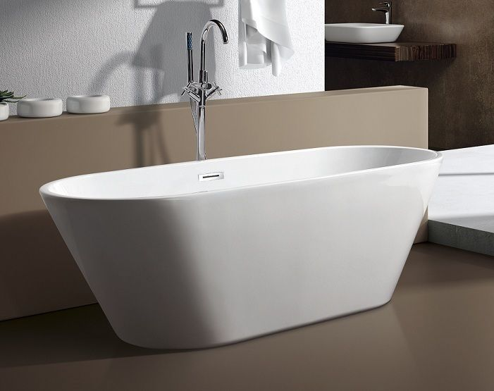 M771 59 modern free standing bathtub faucet bath tub for Free standing tubs for sale
