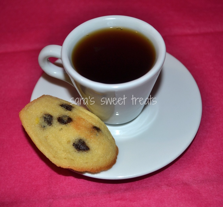 Chocolate Chip Madeleines Recipe — Dishmaps