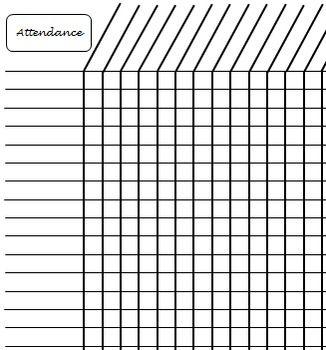attendance form template