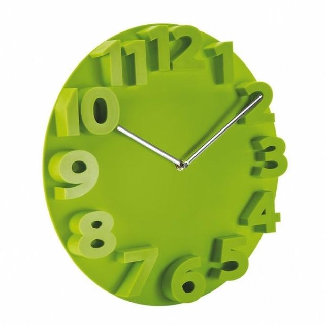 Stunning Horloge Murale Digitale Vert Ideas - Design Trends 2017 ...