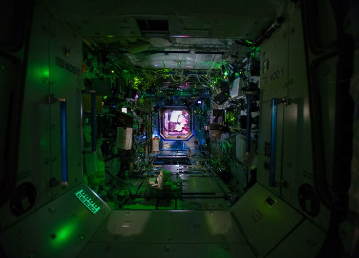 inside space station bed - photo #17