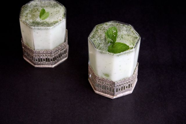 salted lassi lhassi with cumin and mint recipes dishmaps salted lassi ...