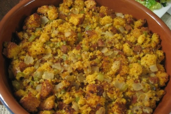 Cornbread, Bacon, Leek, And Pecan Stuffing Recipes — Dishmaps